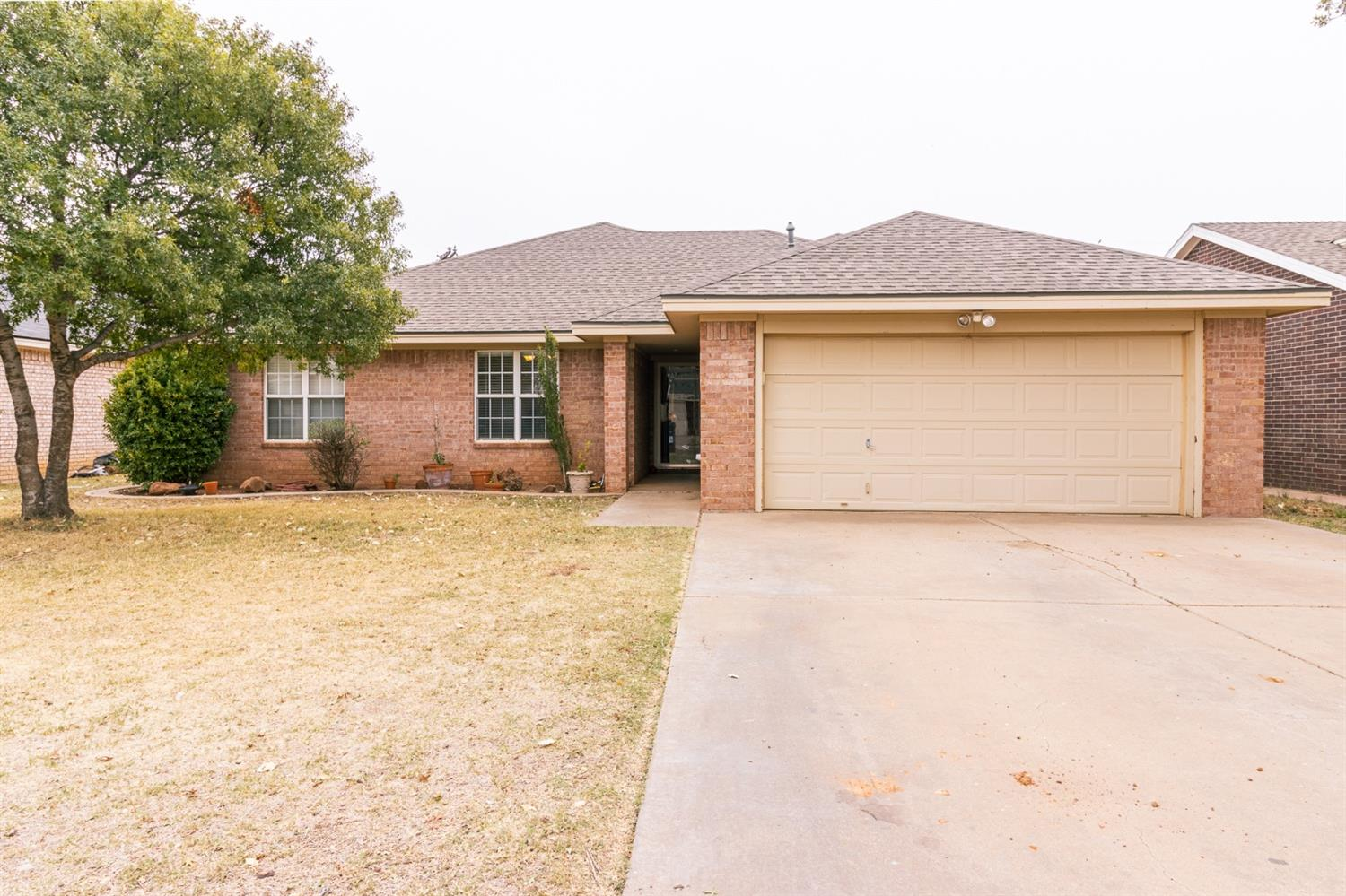 This beautiful home is located on an established street in sought after Shallowater! The kitchen features a large island perfect for entertaining, granite countertops and a spacious pantry. The isolated master showcases double closets, a soaking tub and double sinks. A huge bonus is the basement with a half bath and an extra room that could be used as an office/playroom/second living space, the options are limitless. This home also has abundant storage, an upgraded Carrier Infinity AC System, an attached storage room with electricity and so much more. Call for your showing today!
