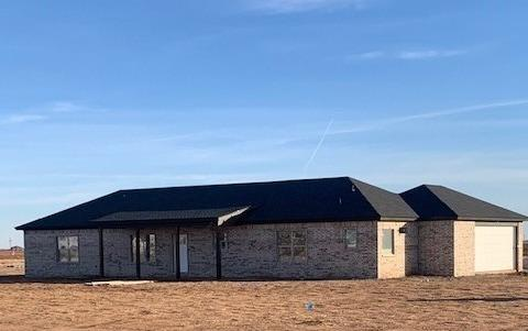 This beautiful brand new home sits on an acre and is located in the Shallowater school district. The approximate completion date is 2/26/2021, just in time to enjoy Spring in Texas! This 4 bedroom/2 bath home includes a private well, vinyl plank floors, granite countertops, stainless steel appliances and much more. Call for more information, you do not want to miss this one!