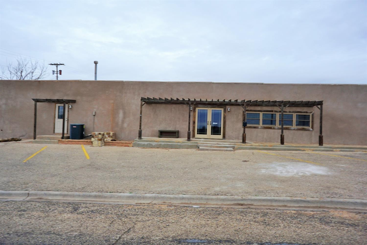 Awesome place for your new business venture! Could be used for just about anything, it was previously Terry Country Country Store.  Great location on HWY 380, just inside the city limits.  The property is updated with 1 bathroom, separate office space, kitchen area, nice paint, newer windows and plenty of space to make it what you want.