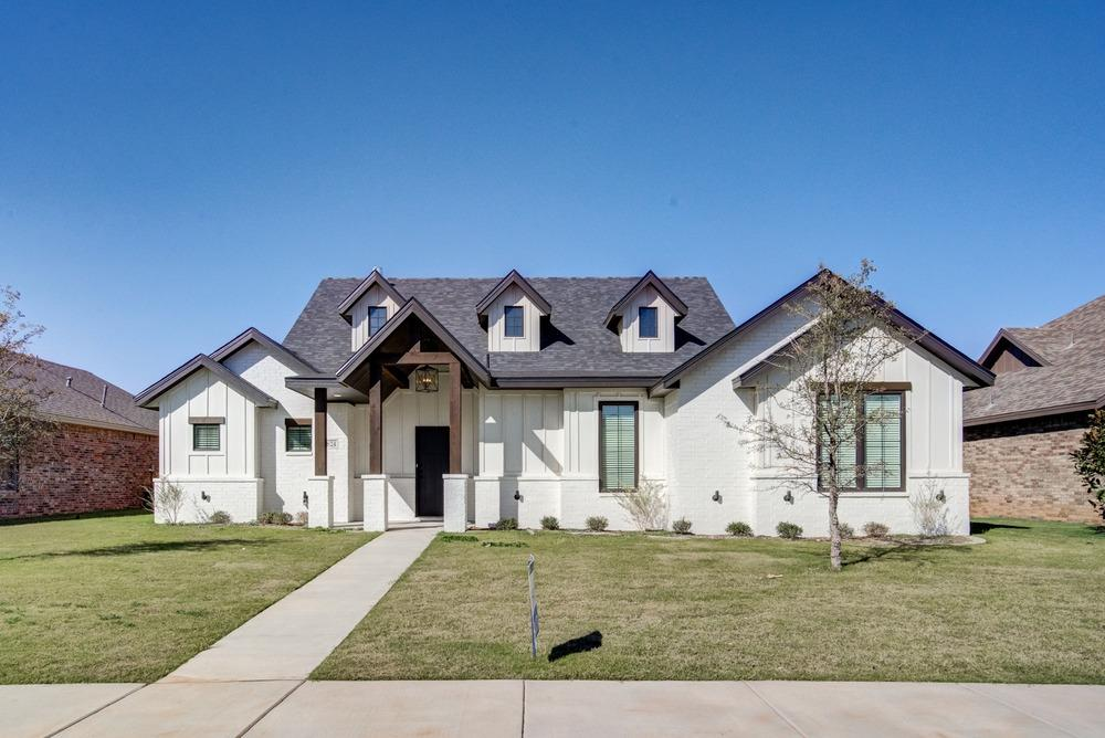 Fantastic brand new construction in South Lubbock! Beautiful 4 bedroom, 2.5 bath home with amazing touches now completed and ready to move in! Built by Addison Homes. Cooper ISD.