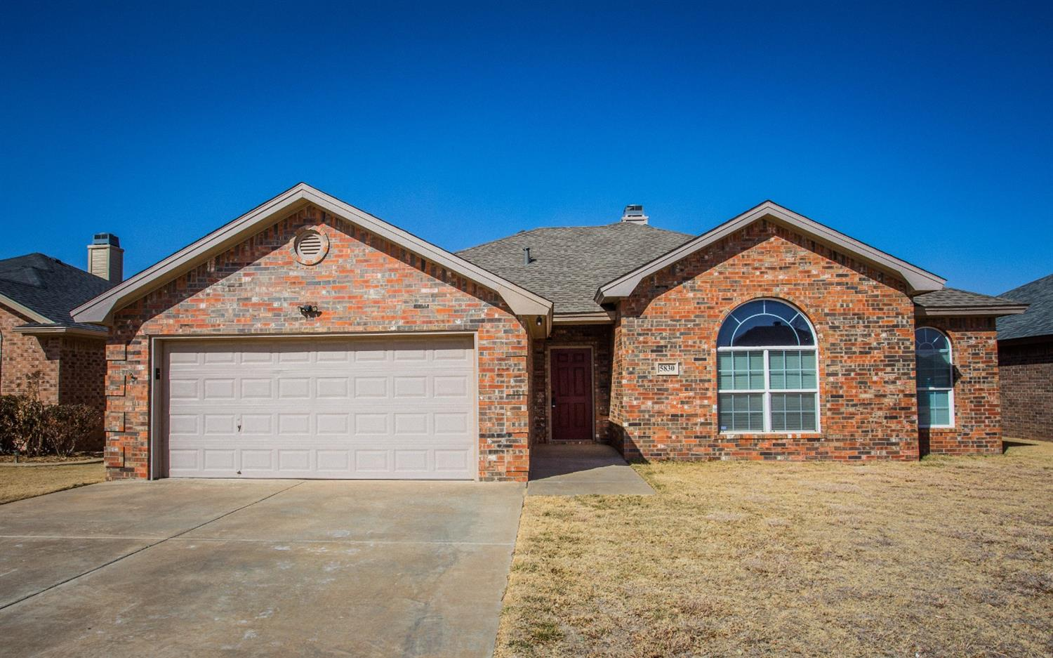Don't miss this immaculate 4/2/2 in Lubbock-Cooper ISD in the well-loved Lakewood Estates.  This home boasts new vinyl plank flooring in the dining, living room, and kitchen areas.  The living room has a beautiful brick fireplace and the kitchen has its own eating area.  The master bedroom is a great size with a master bathroom that has double sinks and a large closet.  The three other bedrooms are the perfect size for children, guests, or even an office.  The backyard has plenty of room for a playset or trampoline. It's a beautiful home ready for a new owner!  Bring your clients today!