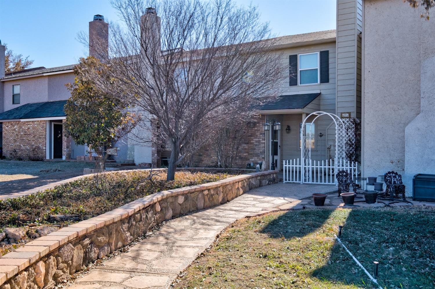 Great townhome! 3/2.5/2 well-loved! Featuring two large bedrooms with full bathrooms in each, granite countertops in the Kitchen, craft room, renovated for storage in every nook and cranny throughout the home.