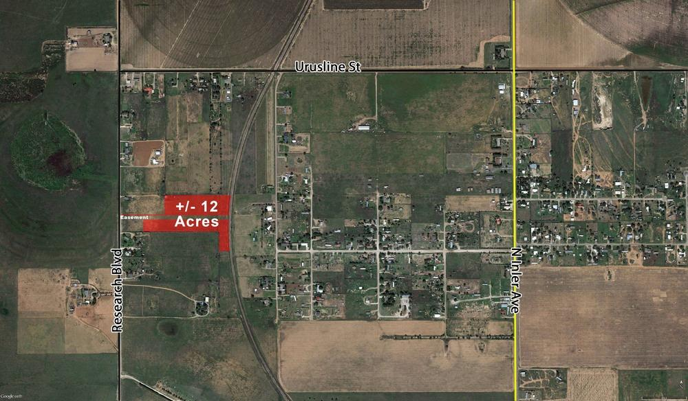 Six 1-1.5 Acre lots of development land south of Shallowater. Excellent location with a short drive south of Shallowater and west of FM 179. Excellent location for west Lubbock development. Private well, septic and electricity.   Total Acres Available: 11.6104 Acres  Topography: Level Clean  Easements: Outer Loop  Will Divide: Yes - Owner will Divide to 1.0 Acre Tracts or Larger at $7,750 per Acre. Buyer will have to apply for their own physical address, dig own well and have electricity connected. Electricity is not shared.   Highway Access: Road access from Research Blvd  For more information: Text code 21585 to 35244