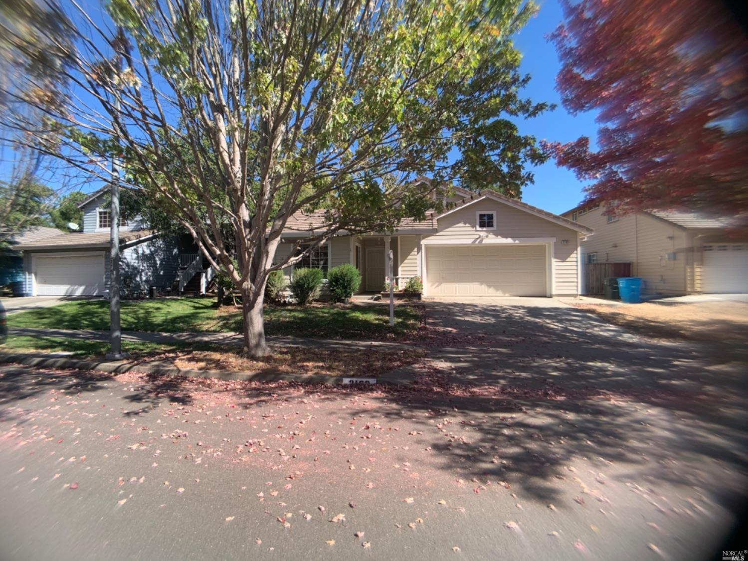 This cute 3BR/2BA home in Taylor Meadows is within walking distance to Target yet tucked away from the heavy traffic. The living/family room off the kitchen has a fireplace and a slider that goes to the back yard. The master has a walk in closet and full bath, there are two smaller bedrooms and a hall bath, an efficient kitchen with new D/W, fridge, stove and microwave, and brand new stainless sink. A large two car garage. Tenant pays utilities, takes care of front and back yards (minimal). Dog possible (- no aggressive breeds and must carry renters insurance.)