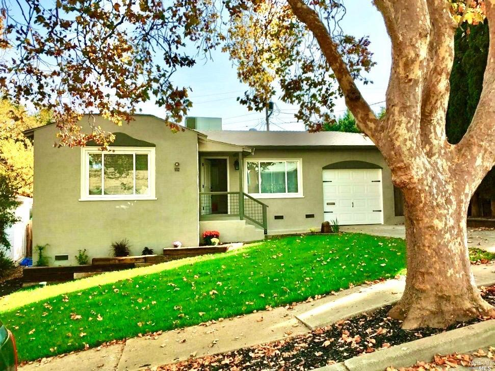 Nestle on a tree lined street, This home was completely upgraded by its current owner, This two bedr