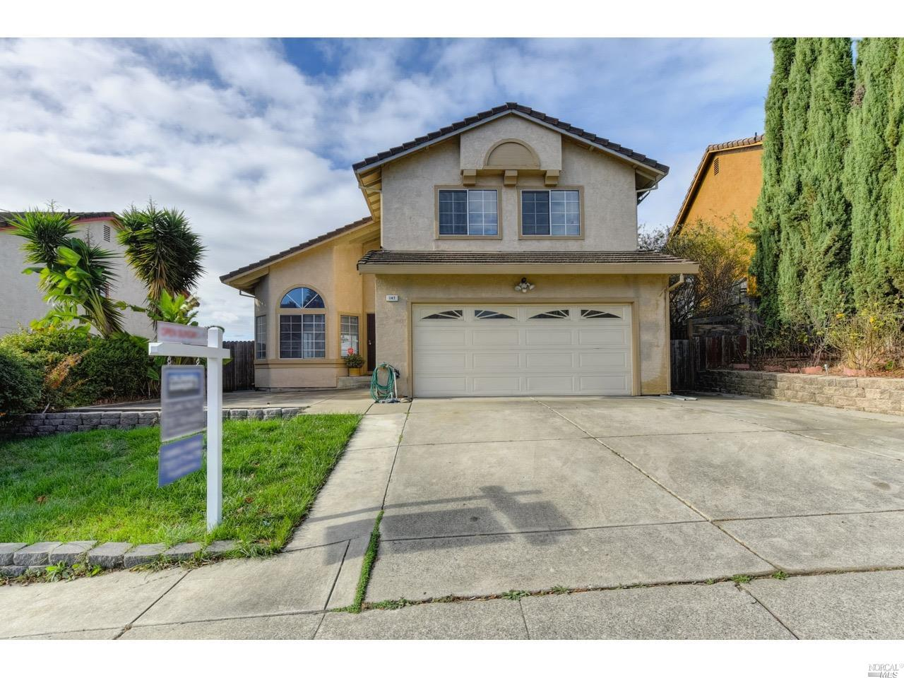 This home features fantastic views of the Napa river from the kitchen, living room, family room and