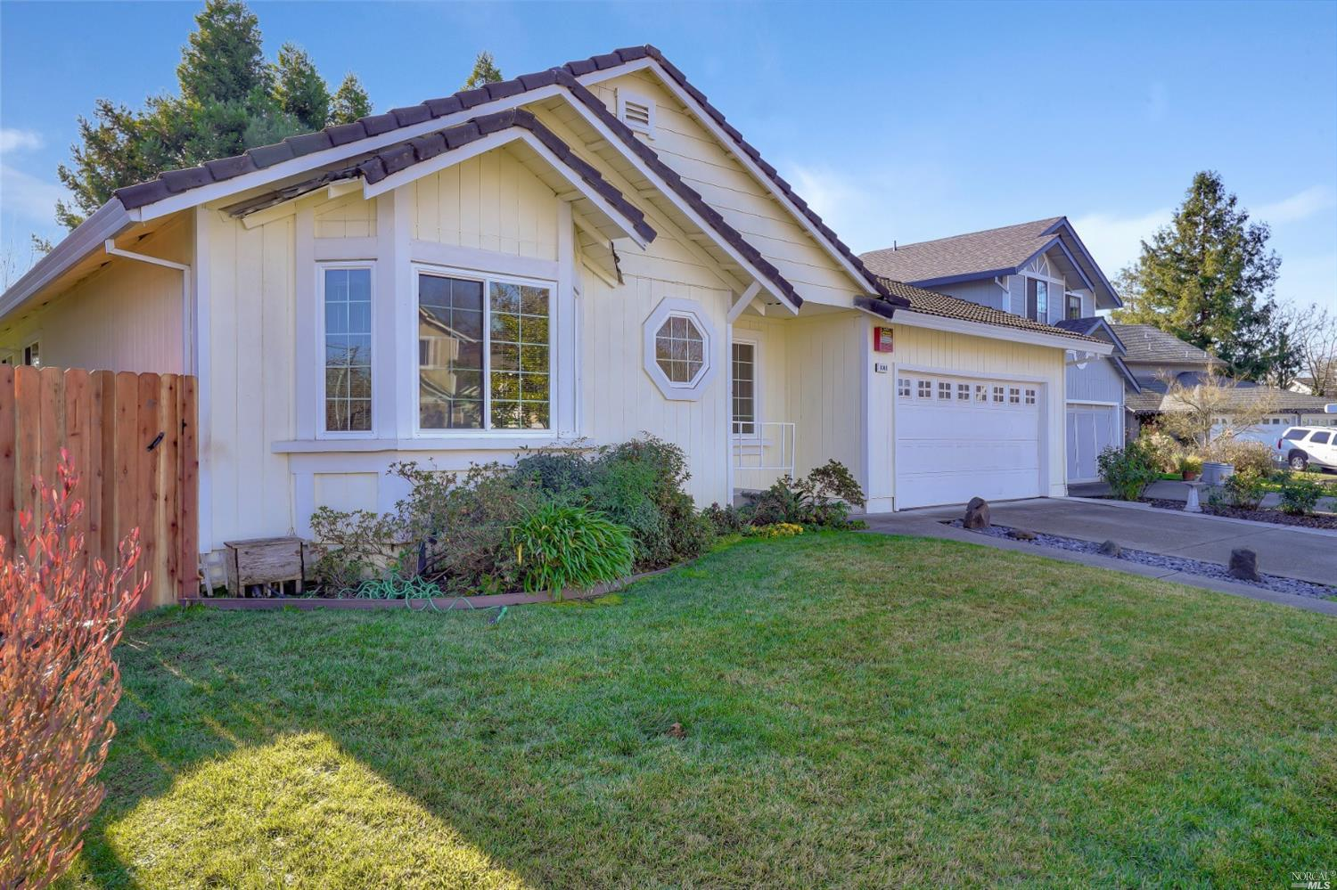 Welcome to this warm and inviting single level home, centrally located in the heart of Wine Country
