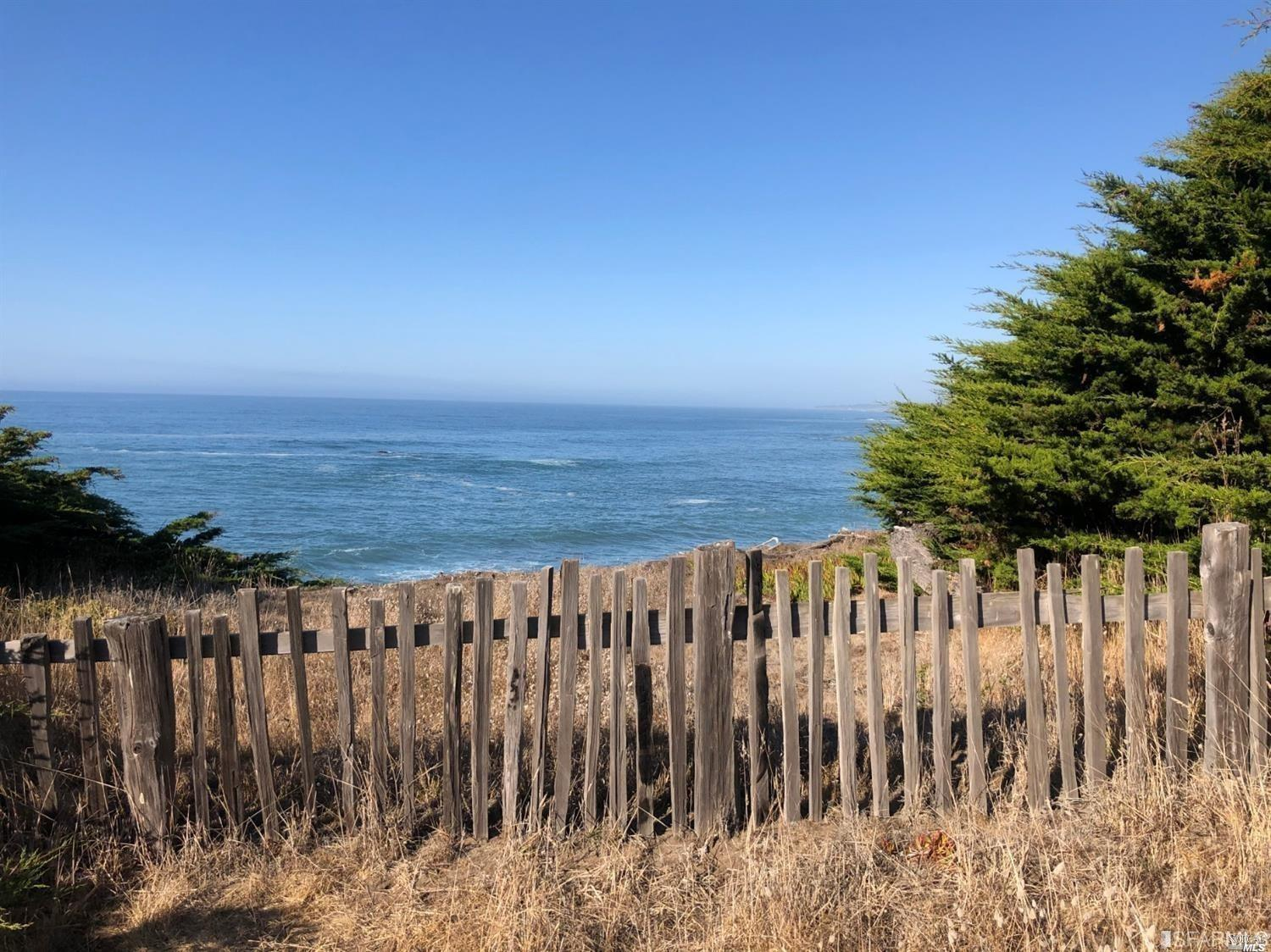 Enchanting .85 acre (tax records) coastline property at The Sea Ranch. This oceanfront parcel is nes