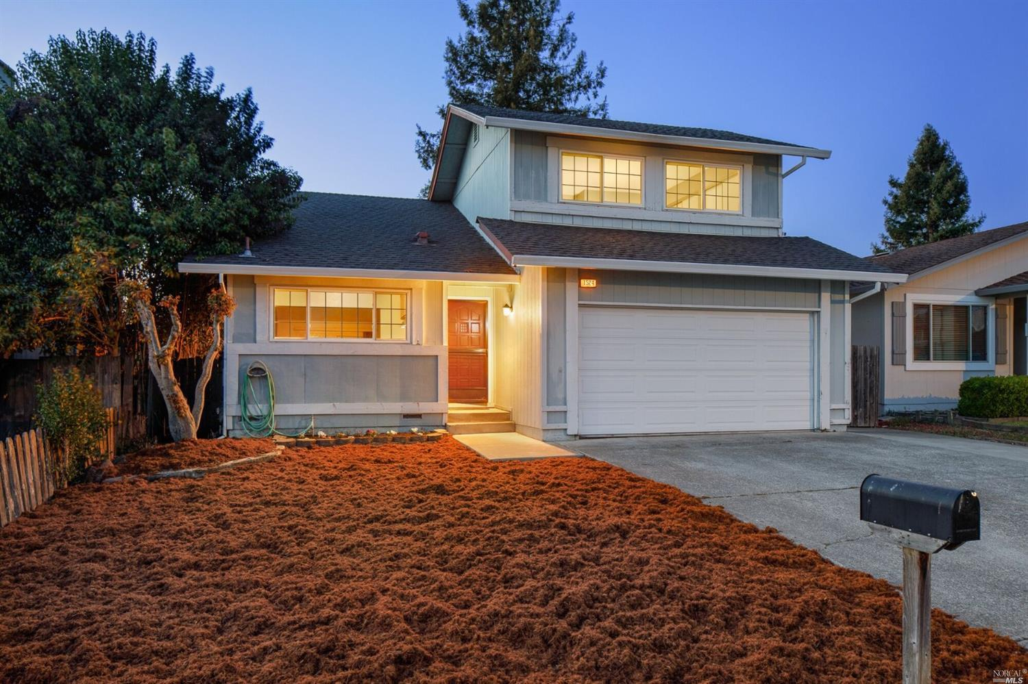 Located in Popular G'' Section of Rohnert Park, this 3 bedroom home offers 2 bedrooms and a full bat