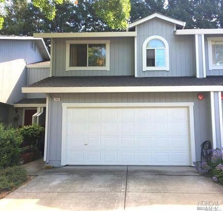 Beautifully maintained Townhouse has a spacious Master suite with large walk in closet. Washer,dryer and refrigerator included. Private backyard with patio. 2 car attached garage. Water and garbage included. Well maintained complex. This unit is just across from the Pool! Close to Sonoma State. Located in the M section. Available Now! Co- signers welcome!