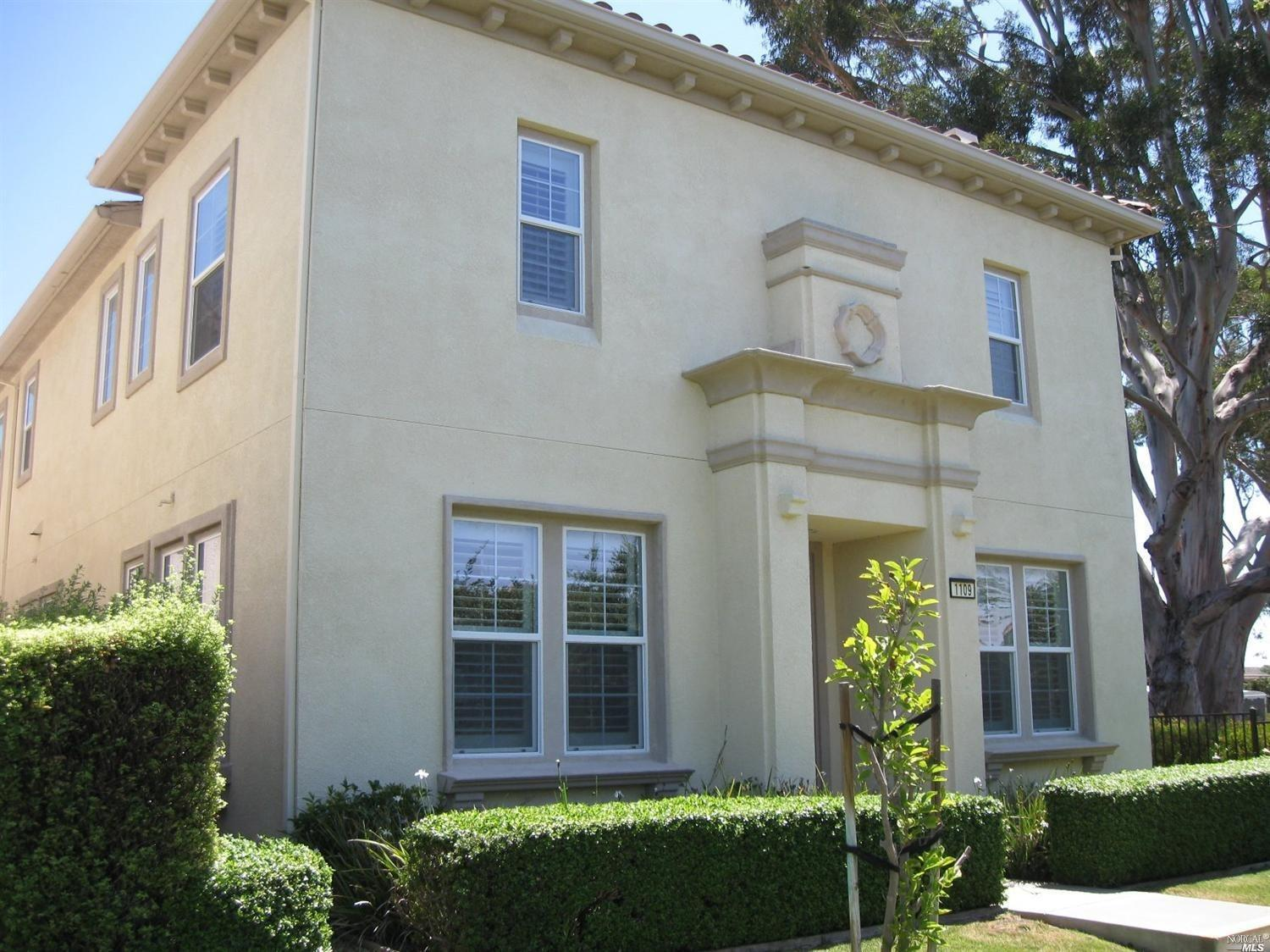 Exceptional Mare Island 4 bedroom, 2.5 bath former Model Home! This home offers a living room with f