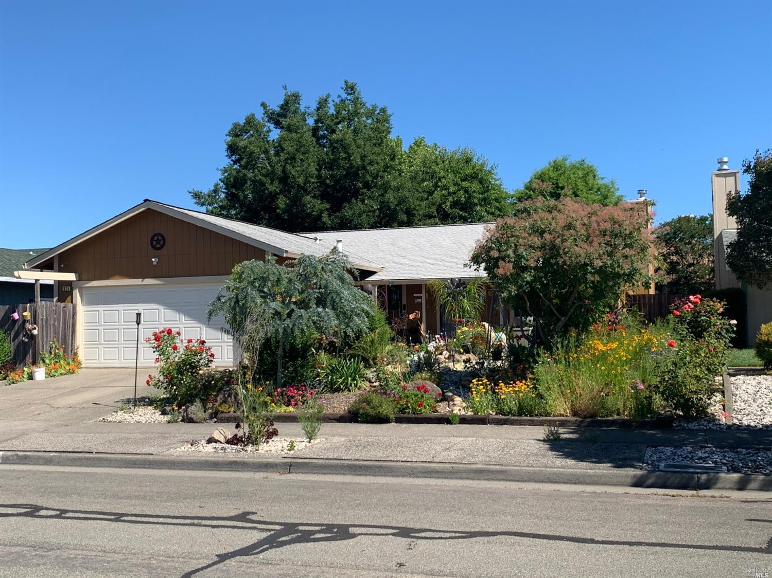 Welcome to this nice home located in a quiet and established neighborhood. Enjoy the open floor plan and multiple flowers and plants in front and back yard (some plants won't convey). Newer carpet installed in 2019 and home was painted inside and outside in 2018.