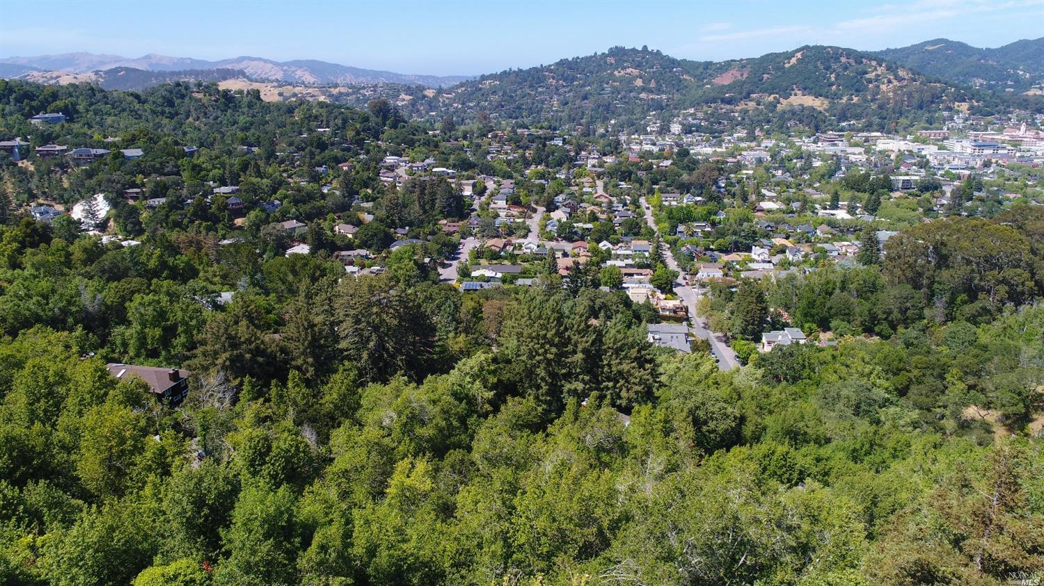 Stunning view, downslope half-acre lot atop Wolfe Grade, on the border of Kentfield and San Rafael. Breathtaking views, surrounded by multi-million dollar properties, bordering city/county open space, and in sought after Ross School District, this is the perfect spot to build your custom dream home.
