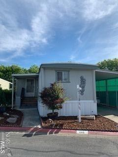 Adorable, single wide mobile home.  This mobile home has been completely remodeled. All Remodeling and repair details will be available for the new buyer.