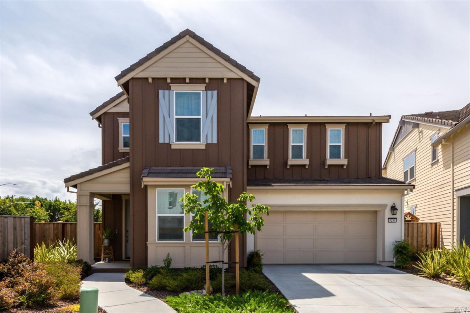 Move-in ready 4 BD/ 3 BA home in a highly sought-after neighborhood in Fairfield! This gorgeous 2-st