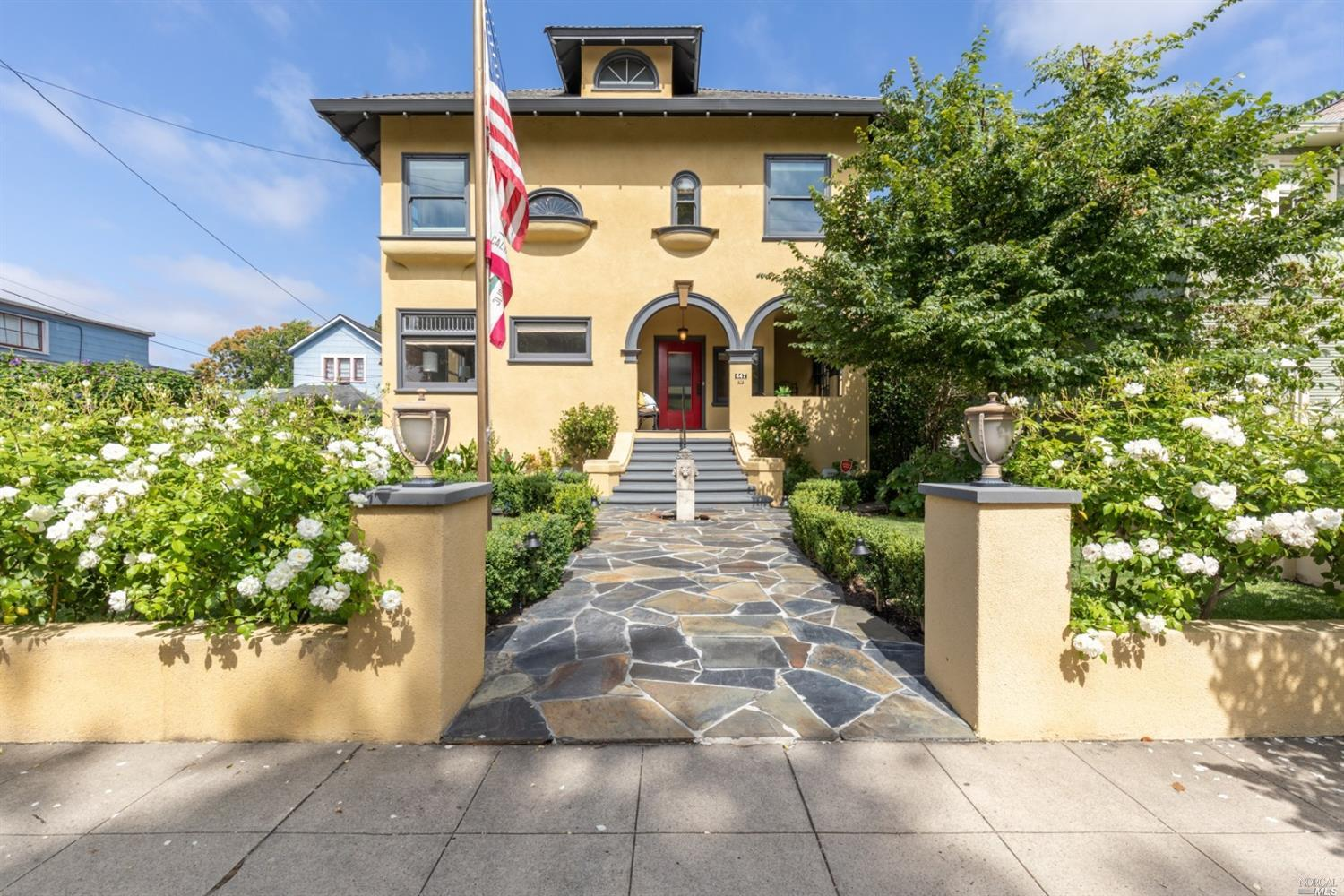 Glorious Italianate home designed by Napa's most preeminent architect Luther Turton. Built in 1905,