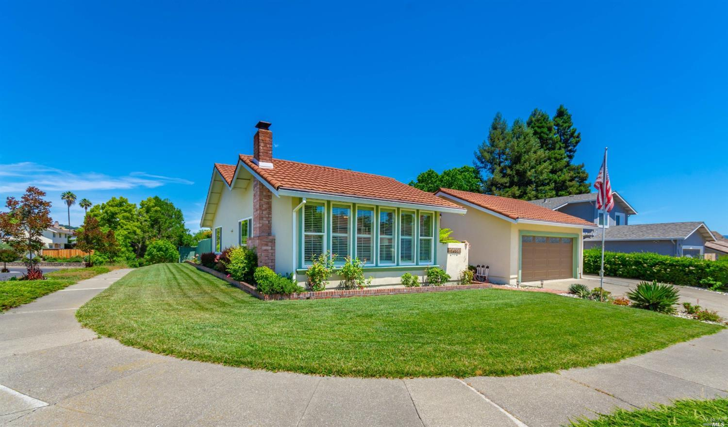 Situated on a large corner lot in the desirable Browns Valley neighborhood sits 3492 Twin Oaks Court