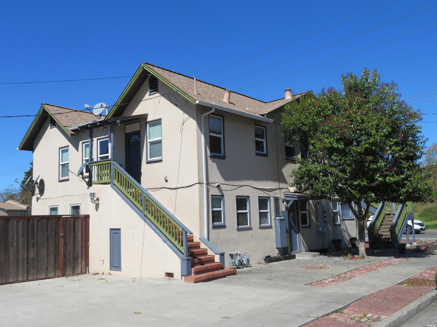 Please do not contact occupants. Drive by quietly, and review photos in the MLS listing. When an acceptable offer is in place, entry to the units will be allowed. Tenants have 1 year leases beginning 7/1/2020 and pay $2350/mo.and $2750/mo. Lower unit uses the garage. Easy access to Hwy. 12 and Hwy. 101.    Cap Rate is 5.5% and GRM is 12.74.