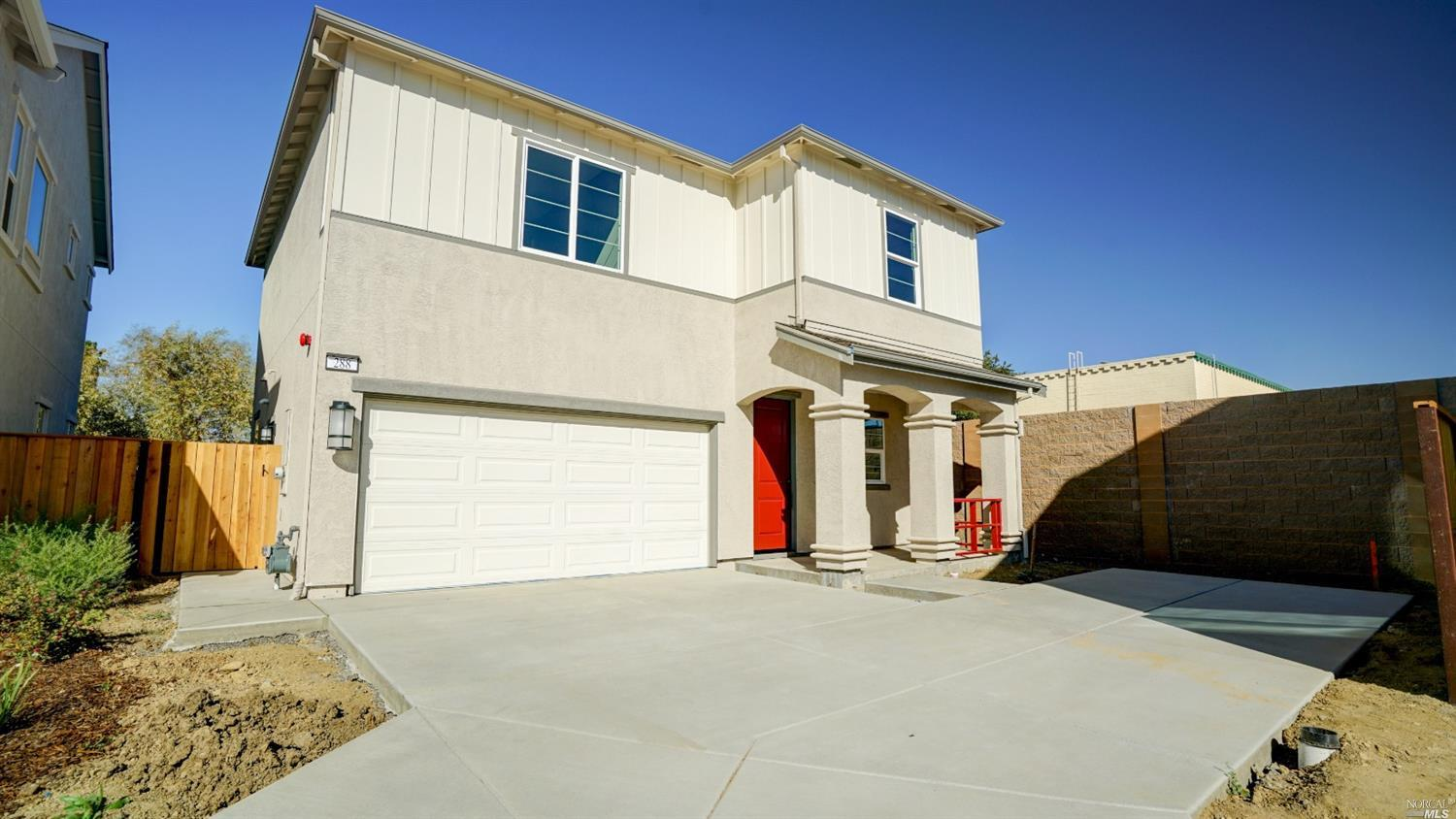 Brand NEW energy-efficient home in the Gardenstone community. No HOA or Mello-Roos. Residence 1- Two