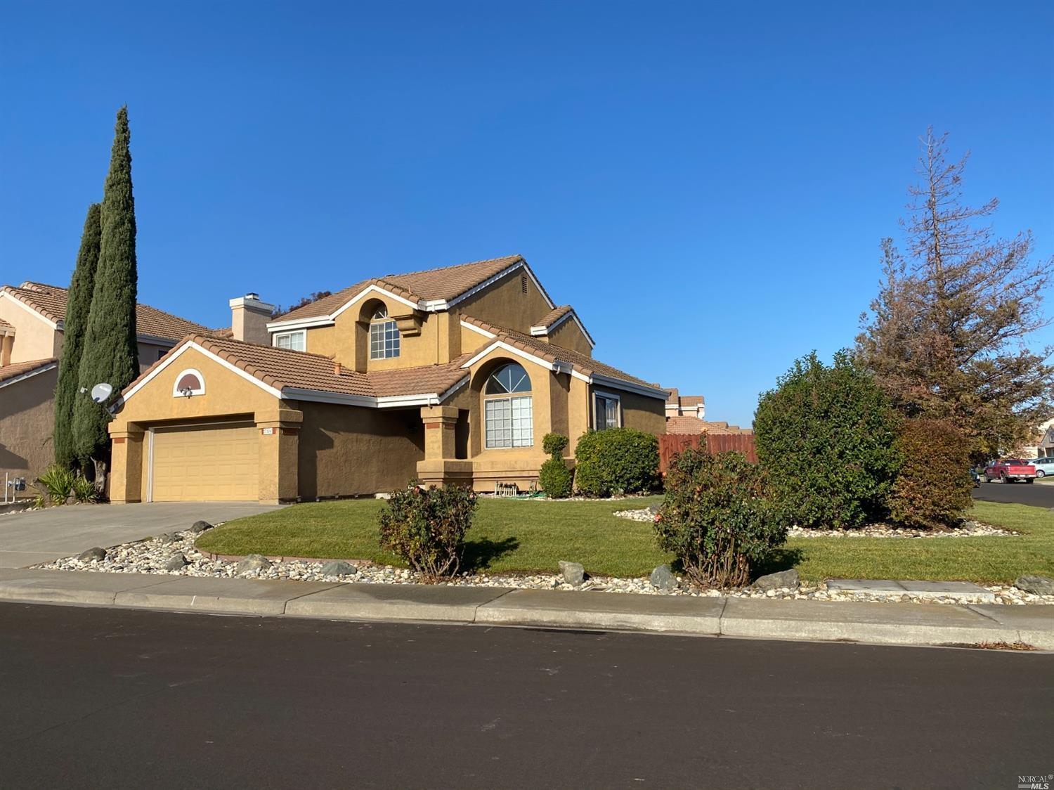 New carpet, Fresh paint and landscape.  Large corner lot. First floor bedroom or office.