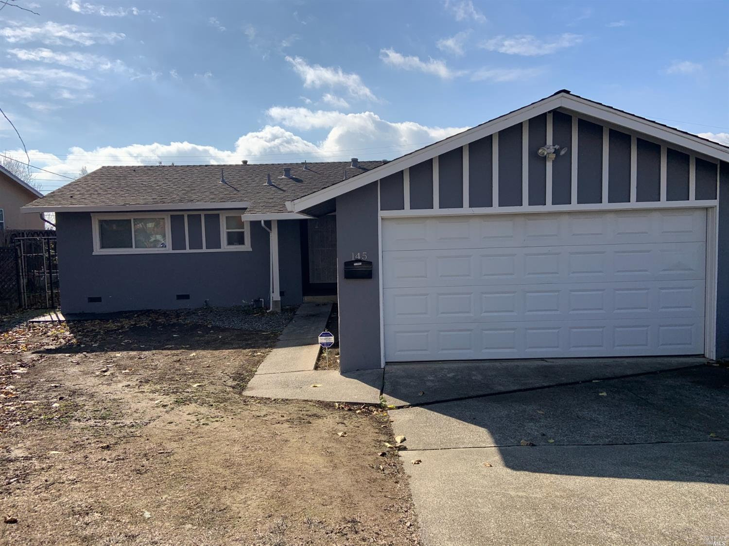 Great house close to everything in the North Vallejo area! House has been renovated with updated kit