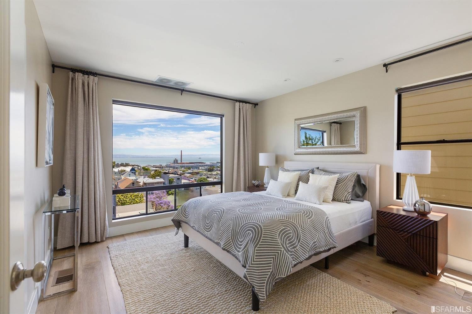 Another office area is cleverly located on the upper bedroom level; two spaces for privacy when Zoom calls are paramount.W