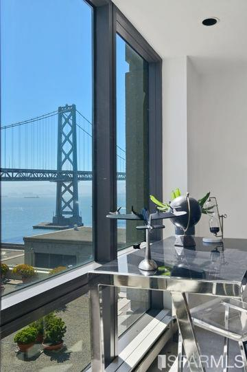 View from living room.  Unit faces San Francisco Bay