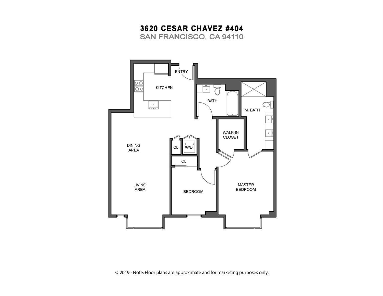 Listing 508992 : 3620  Cesar Chavez Street 404, San Francisco, CA, 94110  (photo 25)